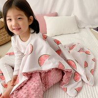 Cotton Baby Blanket For Boy Girl 120*150CM Light Weight Unic...