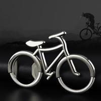 Ouvre-bouteille de vélo en gros, fournitures de cuisine, porte-clés en métal, cadeaux promotionnels pour le stade de sport créatif, alliage, shippi gratuit