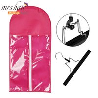 Wig Storage Bag Wood Wig Hanger Dust Bag Wig Protection Hair...