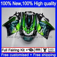 ZZR1100 per Kawasaki ZX11 ZZR 1100 1993 1994 1995 1996 1997 Nuova verde 208MY.13 ZZR1100 ZX 11R ZX11R 93 01 ZX11R 93 94 95 96 97 carenatura