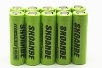 100% High Quality 10 PCS/lot 14500 HG2 25r Batterie 3.7V Li-ion batterie rechargeable Pour lampe de Poche Souris VERT Pingtou