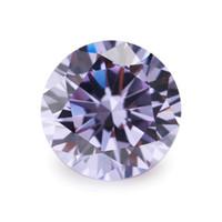 Loose 100 pçs / saco tamanho 3 mm rodada corte 15 cores 5a cúbico zircônia gemas diamantes gemstone beads