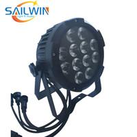 ÇİN IP65 su geçirmez 12 * 18W 6in1 RGBAW UV WIFI Akülü APP LED PAR IŞIK KULLANIM İÇİN ETKİNLİK PRODUCTIONS