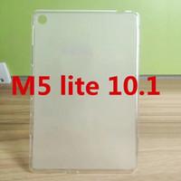 Pour Huawei MediaPad M5 Lite 10 BAH2-L09 BAH2-W09 10,1 pouces Gel Doux TPU Tablet Cover Couverture