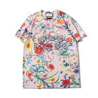2019 Venda quente T-shirts de Impressão Padrão de Manga Curta Das MulheresTshirt Das Mulheres Tops Streetwear Moda Maré Marca mulheres camisetas