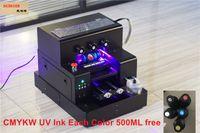 KAIBAICEN Automatic A4 UV Плоский цилиндрический струйный принтер для печати на чехле для бутылочек с молоком, металлическая пластина, деревянный, MDF и т. непосредственно УФ чернила БЕСПЛАТНО