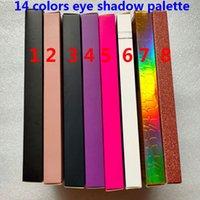 العلامة التجارية 14 لوحة الألوان ظلال العيون وميض لامع ظلال العيون الجمال ماكياج 14 الألوان عينيه لوحة مضادة للماء عالية الجودة