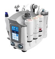 2019 Yeni Varış İşlevli 7 1 Hydra Yüz Makine Mikrodermabrazyon Yüz Cilt Sıkılaştırma Kırışıklık Kaldırma Için Aqua Cilt Soyma