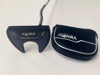 HONMA HP-2008 PUTTER HONMA HP-2008 골프 퍼터 혼마 골프 클럽 33/34/35 인치 스틸 샤프트가있는 헤드 커버