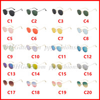 Mode Steampunk Sonnenbrille Frauen Männer Metallrahmen Doppel-Brücke Entwerfer-Marken-Sonnenbrillen Uv400 Objektiv 3447 20 Farben