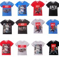 14styles Apex Legends T- shirt kids children Short Sleeves Te...