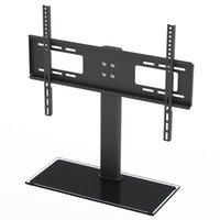 LEADZM دعم 400 س 600MM 32-55inch سطح المكتب الرأسي قوس جبل التلفزيون TSD800 TV الوقوف مع تثبيت ملحقات الشحن السريع في الأسهم الولايات المتحدة الأمريكية