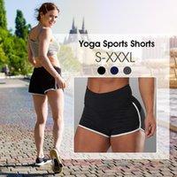 Femmes Yoga Slim Shorts de sport haut de remise en forme élastique confortable taille Pantalons Jambières Yoga Cyclisme Course à pied