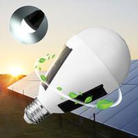 المحمولة 12 واط لوحة للطاقة الشمسية بدعم led لمبة ضوء e27 الرئيسية مصابيح الطوارئ التخييم ضوء المدمج في 18650 بطارية مصباح soalr للصيد