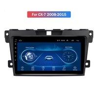 Player multimediali da 9 pollici Android 10 HD per Mazda CX-7 2008-2015 Bluetooth navigazione GPS GPS