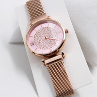 Fashion top brand quality ladies watch magnetic buckle with ...