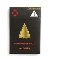 Vape cartuchos de embalajes vacíos logotipo personalizado cajas a prueba de niños de la ventana lateral del paquete de ampolla magnética del Pre-line personalizada de Navidad caja de regalo