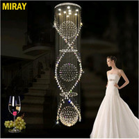 FAST SHIP K9 Crystal Chandelier Modern Lustre Crystal Ceilin...