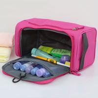 الأزياء المكياج أكياس للجنسين السفر المحمولة غسل حقيبة في أكسفورد القماش دائم أكياس التجميل الملابس أشتات حقيبة التخزين DBC BH1101
