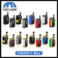 Kit originale Kangvape TH420 V Kit 800mAh 20 W Temperatura regolabile Vape Mod Kit iniziale TH-420 V con cartuccia ceramica da 0,5 ml