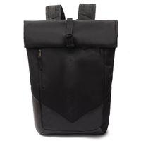 Bolsa de adolescente hombres mochila de mujer Casual camping adulto estudiantes mochilas impermeables viajes al aire libre laptop bolsas negro