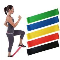 Sıcak 5Pcs Seti Çekme Halat Spor Direnç Gruplar Lateks Tüpler Pedal Excerciser Vücut Eğitimi Egzersiz Elastik Yoga Band In Stock Egzersizleri