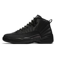 2019 Mens 12s scarpe da basket Winterized WNTR Gym Red Michigan Bordeaux 12  bianco The Master 2778d4321fb