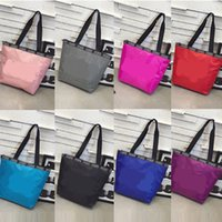 Pink Letter Handbag Sequin Shiny Women Shoulder Bags Waterpr...