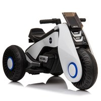 Children' s Toys Car Electric Motorcycle 3 Wheels Double...