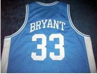 Özel Erkekler Gençlik kadınlar Vintage Aşağı Merion # 33 K B Kolej basketbol Jersey Boyut S-4XL veya özel herhangi bir ad veya numara forması