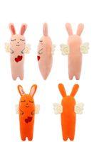 Çocuk Doldurulmuş Oyuncaklar Çocuk Melek Turp Tavşan Peluş Oyuncak Çocuk Yastıklar Childs Doğum Doll Hediyeleri 2020 Yeni Toptan Çocuk Peluş Bebekler Yeni