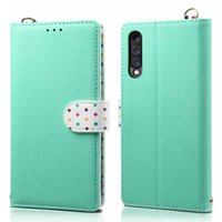 For Samsung Galaxy A50 A70 A7 2018 Case PU Leather Flip Cove...