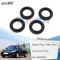 ZUK 4шт / серия Свеча зажигания Tube Seal для HONDA ACCORD PILOT STREAM CIVIC CRV ODYSSEY для Acura MDX RDX RL TL OEM: 12342-P08-004