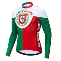 2019 Portugal NOVO ciclismo jersey manga longa de Inverno Velo Térmico no  Velo roupas de ciclismo 7b37b7ade