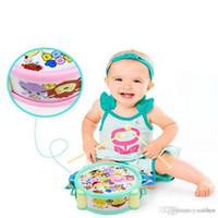 어린이 악기 학습과 교육 장난감은 장난감 아기 딸랑이 조합 세트 팻 드럼을 이길