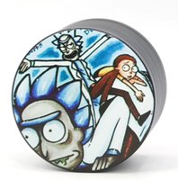 New Zinc Alloy Herb Grinders Rick and Morty Grinders 40 50 5...