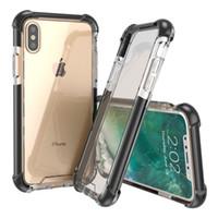 2019 novos estilos Quatro cantos engrossado Super anti caindo-acrílico iphone caixa de vidro além de TPU 3 em caso de telefone celular 1 x iphone xs xr xsmax 11