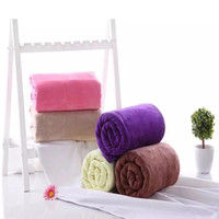140x70cm Bath TowelsThick Adult Hand Sport Towel Bathroom Su...