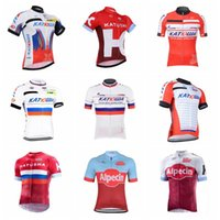 New Arrival. Men 2019 KATUSHA Summer Cycling Jersey Short Sleeve Jersey  Bicycle Bike Jersey Cycling Clothing ... 4a9a205c4