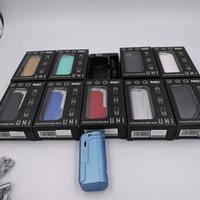 정통 YoCan Uni Box Mod 650mAh 배터리는 두꺼운 오일 카트리지를위한 자석 510 어댑터가있는 가변 전압 VV vape 개조