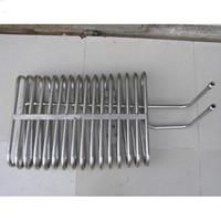 trocador de calor de bobina de titânio, tubo de titânio para trocador de calor de alta qualidade baixo preço ASTM B338 lustrado trocador de calor de bobina de Gr2 titânio