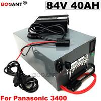 84V 40AH Vélo Électrique Lithium Ion Batterie pour Bafang BBSHD 1000W 2000W 3000W Moteur Batterie E-vélo 84v + une boîte en métal + 5A chargeur
