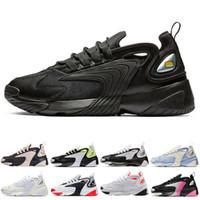 2K الأزياء M2k تيكنو تكبير 2K الاحذية رجال نساء ثلاثية كلاسيكية الأسود Rianbow أحذية رياضية رجالي حذاء حذاء رياضة مدرب 36-45