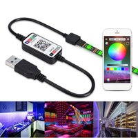 Wireless Mini WiFi Dimmbare-Controller RGB LED Bluetooth Musik-APP-Steuerpult für 5050 3528 Streifen-Licht