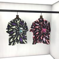 2020ss primavera y el nuevo algodón de alto grado del verano impresión de manga corta ronda panel de cuello de la camiseta Tamaño: M-L-XL-XXL-XXXL Color: negro blanco Vn2