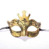 Hot Retro Roman Gladiator Halloween Party Facial Masquerade ...