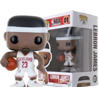 GS FUNKO POP Star del basket James-Kobe- Stephen Curry -Kyrie Irving -John Wall-Action Figure Modello da collezione Toy per i fan Design