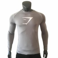 2019 gym Men' s outdoor exercise wear with round collar ...