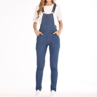 Overalls for women Fashion Denim Bib Pants Sexy Long Rompers...