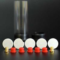 Peak 1,3 millimetri di spessore in ceramica riscaldamento bobina con Brass Pin per il picco atomizzatore riparazione Rebuild sostituzione di cera vaporizzatore Coilless